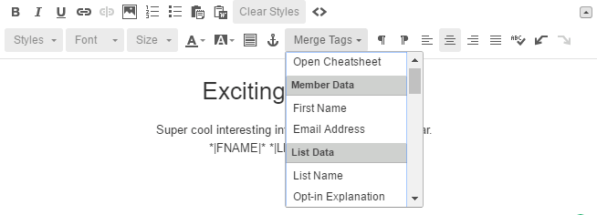 Autofill Forms from Email Merge Fields