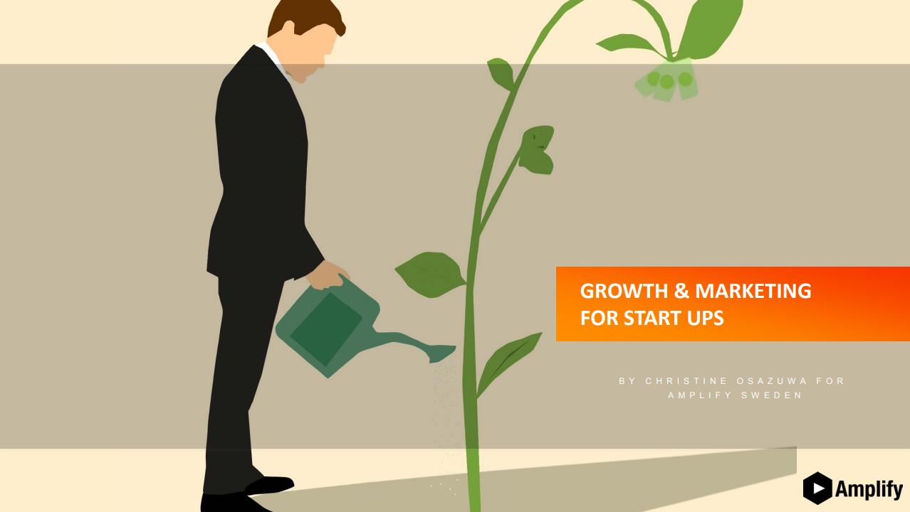Growth Hacking & Marketing For Startups Workshop