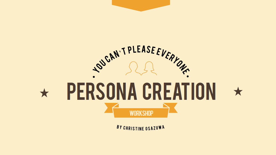 Personas Workshop